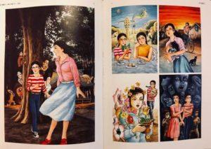 諸星大二郎画集『不熟 MOROHOSHI DAIJIRO 1970-2012』よりp72-73