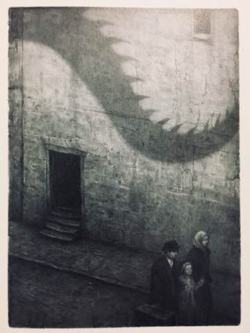『アライバル』:壁の影(2004~2006年)/『ショーン・タンの世界』求龍堂、2019年5月刊より