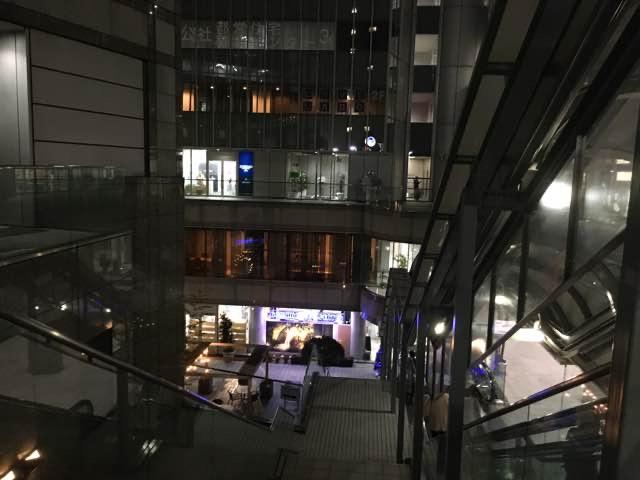 夜の青山ブックセンター(渋谷)